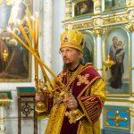 В канун Недели 23-й по Пятидесятнице митрополит Вениамин совершил всенощное бдение в Свято-Духовом кафедральном соборе города Минска