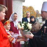 Предстоятель Белорусской Православной церкви совершил Божественную литургию в кафедральном соборе Воскресения Христова г. Борисова