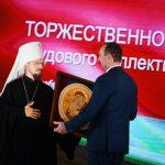 Митрополит Минский и Заславский Вениамин принял участие в праздновании столетия БНТУ