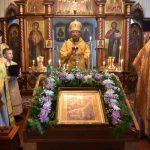 Митрополит Минский и Заславский Вениамин совершил Литургию в Петро-Павловском храме гп. Плещеницы