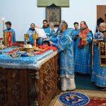 В день праздника Введения во храм Пресвятой Богородицы предстоятель Белорусской Православной Церкви возглавил богослужения в Ляденском монастыре