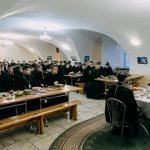 Патриарший Экзарх посетил Жировичский монастырь и Минскую духовную семинарию
