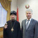 Предстоятель Белорусской Православной Церкви встретился с Уполномоченным по делам религий и национальностей