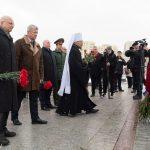 В день 77-летия освобождения Ленинграда от фашистской блокады митрополит Вениамин принял участие в памятных мероприятиях в музее истории ВОВ