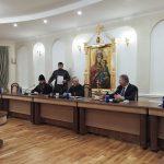 Состоялось совещание по организации похорон почетного Патриаршего Экзарха всея Беларуси митрополита Филарета