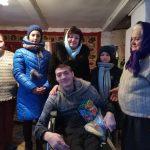 В Крупках с Рождеством Христовым поздравили детей-инвалидов