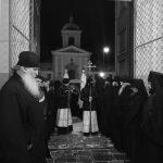 Гроб с телом почившего митрополита Филарета встретили в Жировичском монастыре
