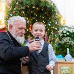 В Марьиной Горке учащихся воскресной школы поздравили с Рождеством Христовым
