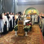 Состоялось отпевание настоятеля храма Вознесения Господня протоиерея Димитрия Ветошкина