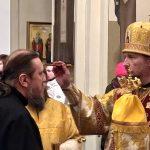 В канун Недели 35-й по Пятидесятнице митрополит Вениамин возглавил всенощное бдение в Ляденском монастыре
