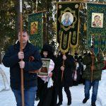 Митрополит Вениамин совершил Литургию в день престольного праздника женского монастыря в честь св. блж. Ксении Петербургской д. Барань