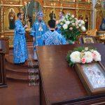 Митрополит Минский и Заславский Вениамин, Патриарший  Экзарх всея Беларуси, совершил богослужение в Ляденском мужском монастыре