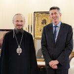 Патриарший Экзарх встретился с послом Франции в Беларуси