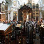 В канун понедельника 3-й седмицы Великого поста Патриарший Экзарх совершил Пассию в Свято-Духовом кафедральном соборе города Минска