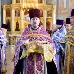 В день памяти преподобного Симеона Нового Богослова престольный праздник отметил один из приделов Никольского храма Логойска