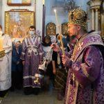 В канун Недели Торжества Православия Патриарший Экзарх совершил всенощное бдение в Свято-Духовом кафедральном соборе города Минска
