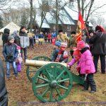В Жодино казаки организовали праздник Масленицы для детей воскресной школы
