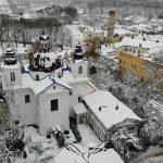 Патриарший Экзарх совершил Божественную литургию в Гродненском Рождество-Богородичном женском монастыре
