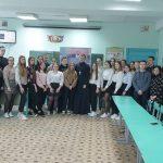 В г. Борисове священнослужитель провел беседу со старшеклассниками о духовности и нравственных ценностях