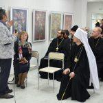 В Борисове состоялось открытие выставки акварели Владимира Рынкевича «О земном и небесном»