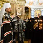 Патриарший Экзарх совершил монашеский постриг в Елисаветинском монастыре города Минска