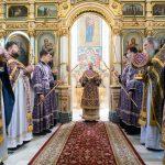 В Неделю преподобной Марии Египетской Патриарший Экзарх совершил Божественную литургию в Свято-Духовом кафедральном соборе Минска