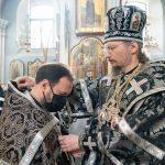 В Великий вторник митрополит Вениамин совершил Божественную литургию Преждеосвященных Даров в Свято-Духовом кафедральном соборе города Минска