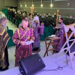 Митрополит Вениамин вознес молитвы об исцелении болящих в главном военном клиническом медицинском центре в городе Минске