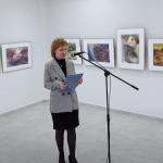Видеоматериал об открытии выставки акварели Владимира Рынкевича «О земном и небесном»
