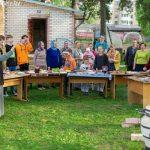 В Марьиной Горке в Неделю святых жен-мироносиц организовали приходской праздник