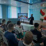 Встреча со священником в рамках акции «Быть достойными Великой Победы!» прошла в учреждении образования аг. Голоцк