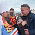 Патриарший Экзарх совершил чин освящения колоколов в Князь-Владимирском храме г. Борисова