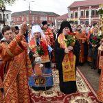 В Борисовской епархии прошли торжества, посвящённые основателю города Борисова полоцкому князю Борису Всеславичу