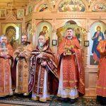 Престольный праздник в Иоанно-Богословском монастыре в Домашанах