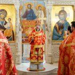 Митрополит Вениамин возглавил Божественную литургию в домовом храме Минской духовной академии в честь святителя Кирилла Туровского