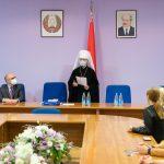 Состоялся визит Патриаршего Экзарха в Белорусскую медицинскую академию последипломного образования