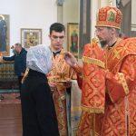 В канун Недели 2-й по Пасхе митрополит Вениамин совершил всенощное бдение в Благовещенском Ляденском монастыре