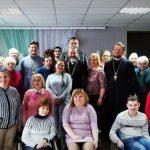 В Червенском территориальном центре социального обслуживания населения с участием священнослужителей состоялось мероприятие «Семья согретая любовью, всегда надежна и крепка»