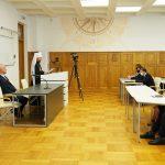 Митрополит Вениамин выступил с лекцией перед сотрудниками и студентами Белорусского государственного университета