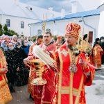 Патриарший Экзарх посетил Успенский Жировичский монастырь
