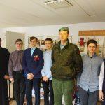 Священник провел беседу на тему духовно-патриотического воспитания в Марьиногорской гимназии