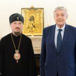 Митрополит Вениамин встретился с Послом Российской Федерации в Республике Беларусь Евгением Лукьяновым