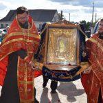 В кафедральный собор Воскресения Христова г. Борисова доставлена мироточивая икона Пресвятой Богородицы «Умиление»