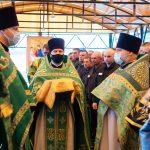 Митрополит Минский и Заславский Вениамин посетил исправительную колонию №14 и совершил там Божественную литургию
