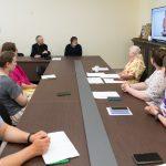 Патриарший Экзарх встретился со слушателями Летней школы для волонтеров по организации коммуникации с глухими и слабослышащими людьми на приходах