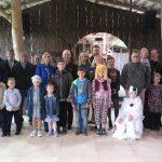 Первичная организация ОО «Белорусский союз женщин» УВД Миноблисполкома поздравила детей трех семей священников Борисовской епархии