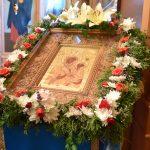 Престольный праздник отметил храм Тихвинской иконы Божией Матери Иоанно-Богословского женского монастыря в Домашанах