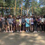 В образовательно-оздоровительном лагере «Чайка» Борисовского р-на состоялась беседа с подростками о репродуктивном поведении