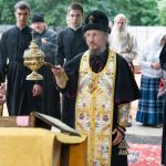 В день памяти пророка Илии митрополит Вениамин совершил чин на основание одноименного старообрядческого храма в городе Минске