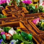 В праздник Происхождение (изнесение) Честны́х Древ Животворящего Креста Господня Патриарший Экзарх совершит Литургию в Никольском храме Логойска